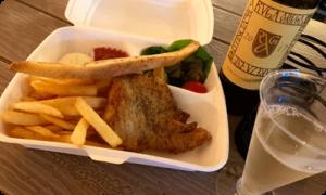 FISH & CHIPS DINNER(フィッシュ&チップスディナー)